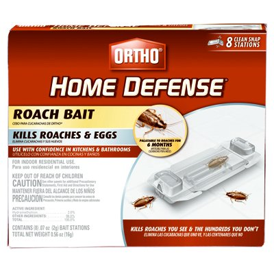 217231 Home Defense Roach Bait - Pack of 8