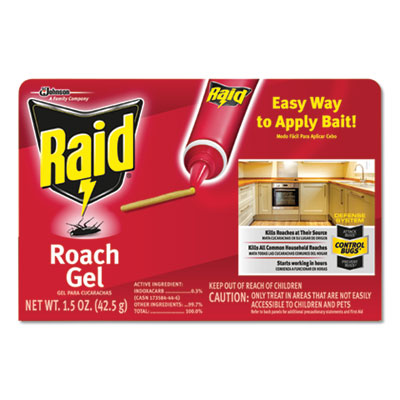 697332 Insecticide Raid Roach Gel