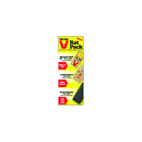 7580798 Rat Pack Medium Rodent Trap Combo Pack for Rats