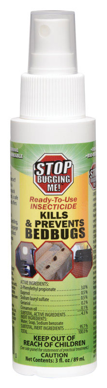 7687874 3 oz Bed Bug Insecticide, Assorted