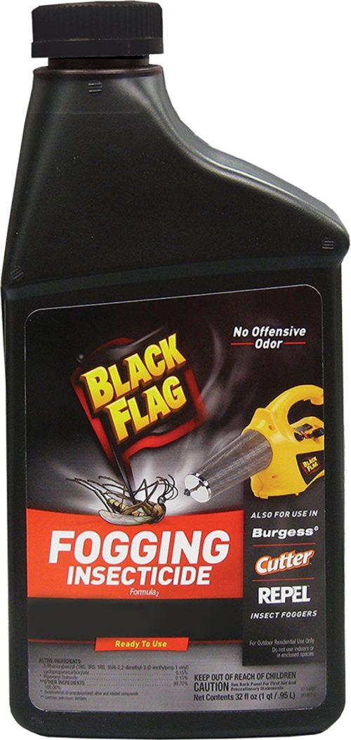 CB110766 Black Flag Fogging Insecticide to Control Mosquitoes & Biting Flies Outdoors