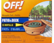 Off 75203 6 Count, Mosquito Coil Refill