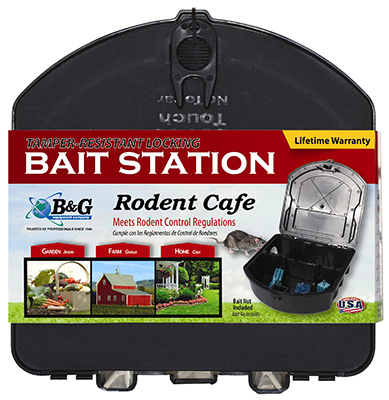 B & G Equipment 25000261 Tamper Resistant Rodent Bait Station