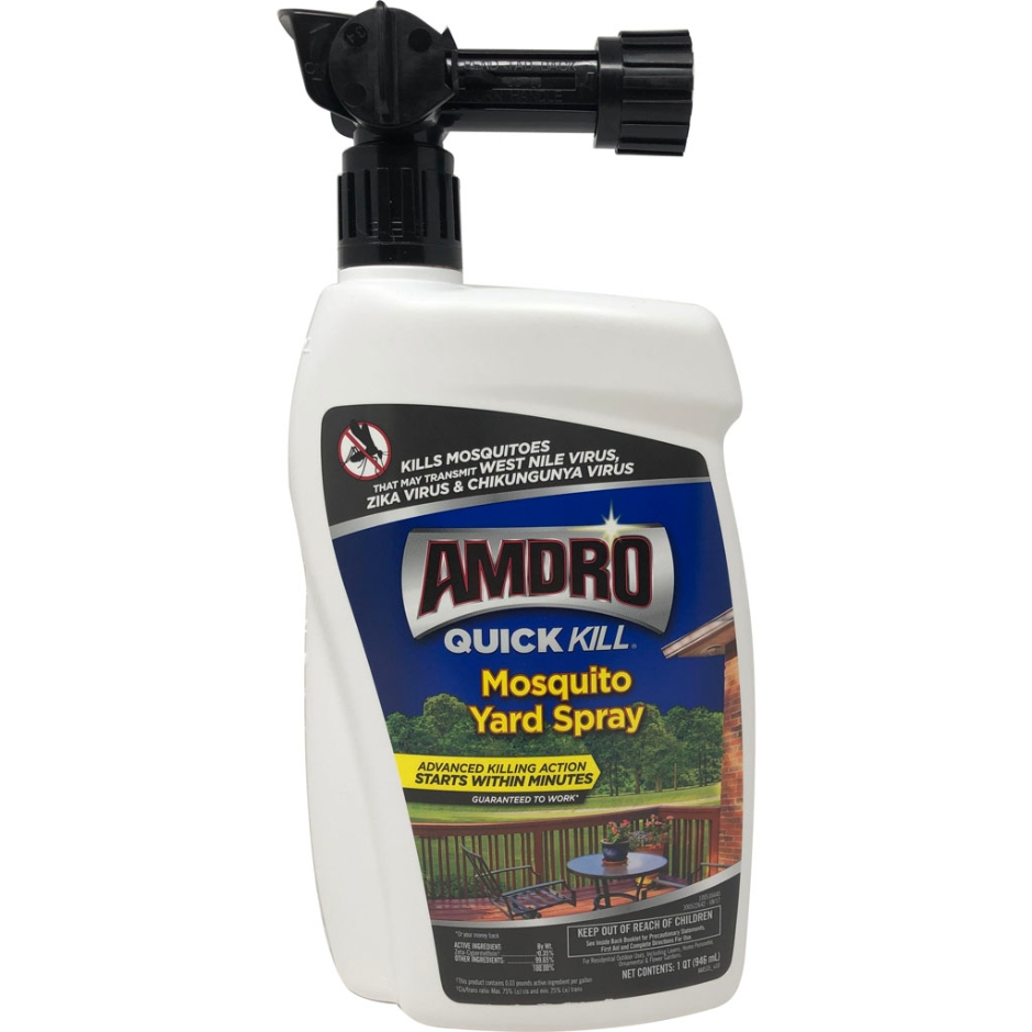 100537441-100530440 1 qt. Amdro Quick Kill Mosquito Yard Spray RTS - Pack of 6