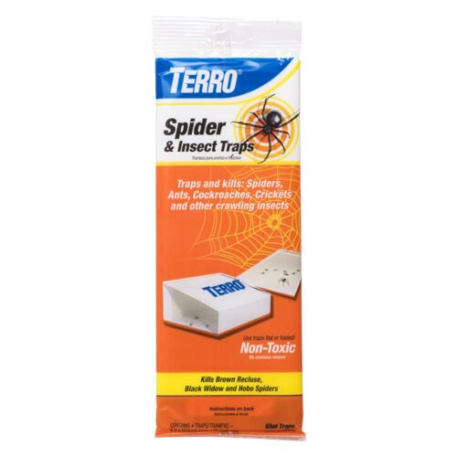 T3206 Spider & Insect Trap - Pack of 4