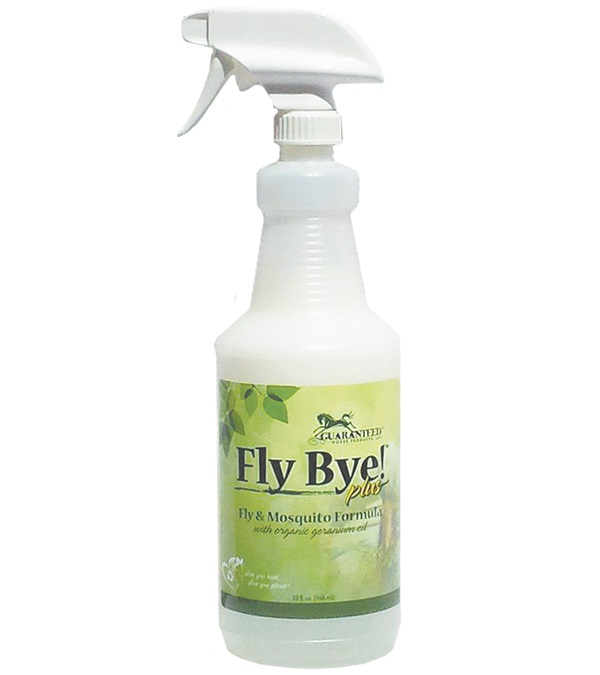 3455 Fly Bye Plus Fly & Mosquito Spray with Trigger Sprayer - 32 oz